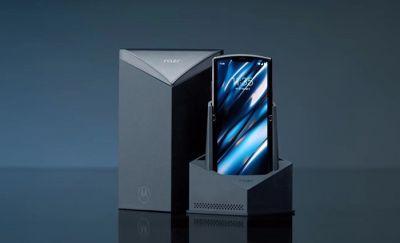 联想发布全球首款折叠屏翻盖手机:售价1499美元