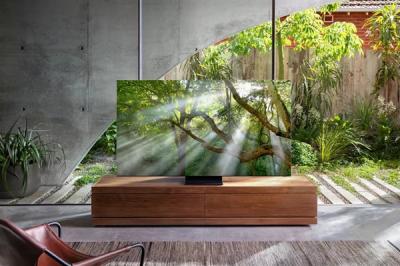 无边框设计,屏占比高达99%!三星QLED 8K电视新品发布