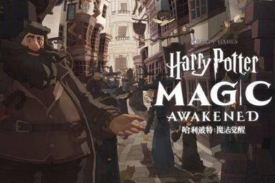 国内首款正版《哈利波特》手游官宣,华纳与网易游戏联手打造